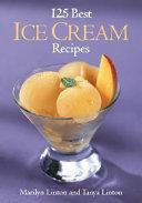125 Best Ice Cream Recipes Book PDF