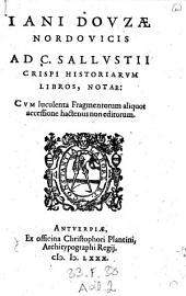 Ad C. Sallustii Crispi Historiarum Libros Notae