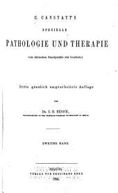 Handbuch der medicinischen Klinik: Band 2