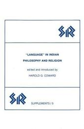 Language in Indian Philosophy and Religion