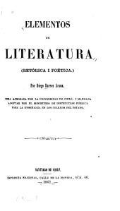 Elementos de literatura: retórica i poética