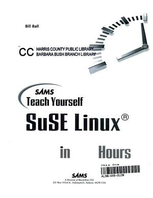 Sams Teach Yourself SuSE Linux in 24 Hours PDF