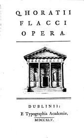 Q. Horatii Flacci opera [ed. by J. Hawkey].