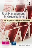 Risk Management in Organizations PDF