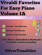 Vivaldi Favorites for Easy Piano Volume 1 A