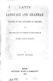 Latin language and grammar