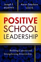 Positive School Leadership PDF