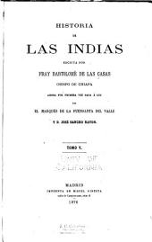 Historia de las Indias: Volumen 5