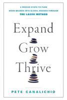 Expand  Grow  Thrive PDF