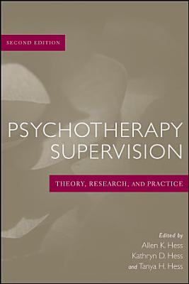 Psychotherapy Supervision