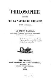 Philosophie fondée sur la nature de l'homme: en 223 aphorismes