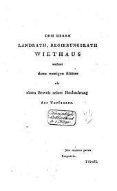 Zehnte Elegie des ersten Buches, lateinisch und deutsch