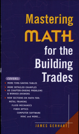 Mastering Math for the Building Trades PDF