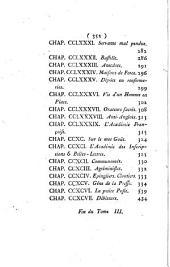 Tableau de Paris: Volume3