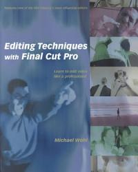 Editing Techniques With Final Cut Pro Book PDF