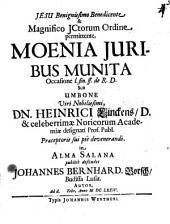 Moenia iuribus munita