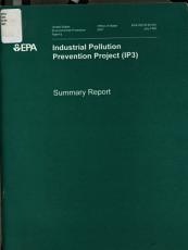 Industrial Pollution Prevention Project  IP3  PDF