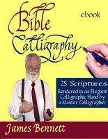 Bible Calligraphy   25 Scriptures PDF
