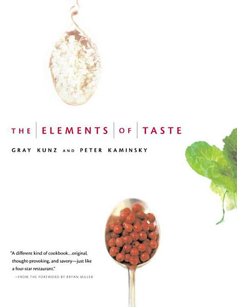 Download The Elements of Taste Book