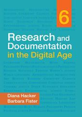 Research and Documentation in the Digital Age: Edition 6