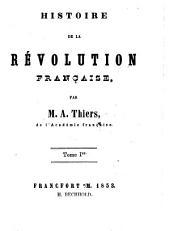 Histoire de la révolution française: Volume1