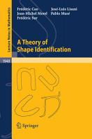 A Theory of Shape Identification PDF