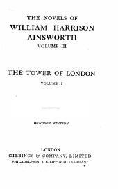 The novels of William Harrison Ainsworth: Volume 3