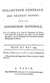 Collection générale des décrets rendus par la Convention Nationale: Volume 35