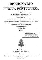 Diccionario Da Lingua Portugueza: Volume 2