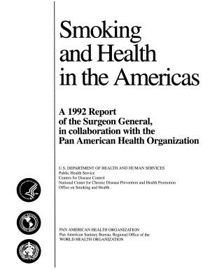 Smoking   Health in the Americas