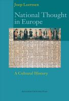 National Thought in Europe PDF