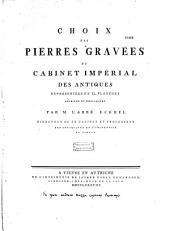 Choix des Pierres gravées du cabinet Impérial des Antiques