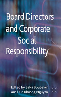 Board Directors and Corporate Social Responsibility PDF
