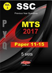 SSC Previous year Questions MTS 11-15: Solved