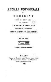 Annali universali di medicina: Volume 141