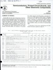 Current Industrial Reports: Semiconductors, printed circuit boards, and other electronic components. MA36Q