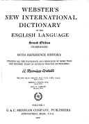 Webster s New International Dictionary of the English Language PDF