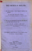 The Church in Ireland  I  The Difficulties of Her Present Position Considered  By     W  O Neill      II  The Duty of Churchmen in England and Ireland at this Crisis Towards Her  By     A  T  Lee      Two Sermons  on Acts Xx  28 and Rev  Ii  10   Etc PDF