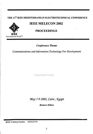 Proceedings of MELECON