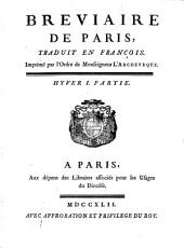 Breviaire De Paris: Hyver ; 1, Volume7