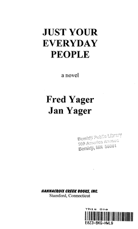 Just Your Everyday People PDF