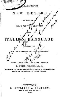 New Method of Learning Italian PDF