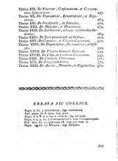 Institutionum canonicarum, 1: libri tres ad usum Seminarii Neapolitani