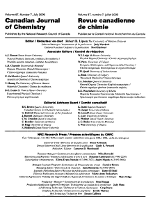 Canadian Journal of Chemistry PDF