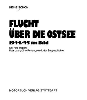 Flucht   ber die Ostsee 1944 45 im Bild PDF