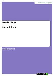 Soziobiologie PDF