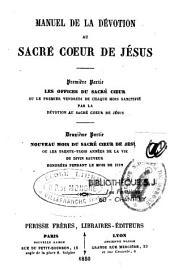 Manuel de la dévotion au Sacré-Coeur de Jésus