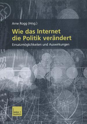 Wie das Internet die Politik ver  ndert PDF