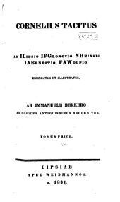 Cornelius Tacitus: Volume 1