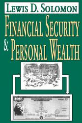 Financial Security And Personal Wealth Book PDF